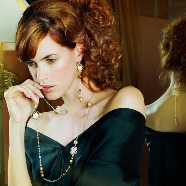 Bijoux So Daisy - Argent et cristal Swarovski