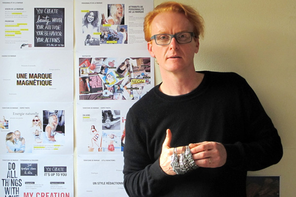 François Ghys - Créateur d'AKT Jewels