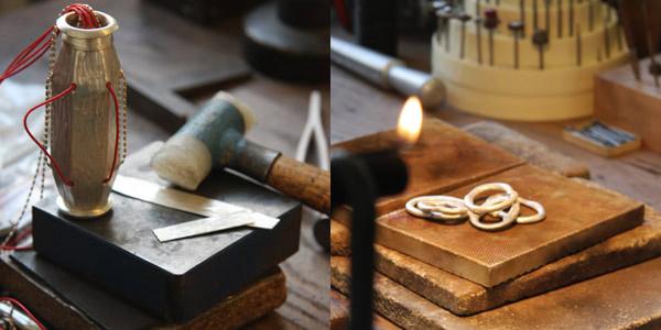 Atelier de bijoux de Laurence Oppermann