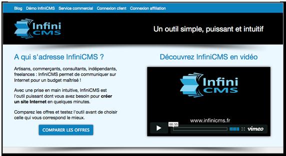 Outils de blog InfiniCMS
