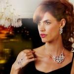 Cristal Swarovski et argent pour les Bijoux de Looty par Laure Martial Malanda