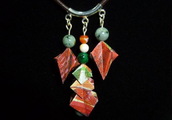 Collier en origami