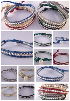 Collection de bracelets - Vic & Leo